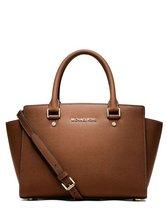 Michael Kors Women's Selma Medium Top Zip Satchel Satchel Handbag Luggage - $189.00+
