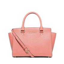 Michael Kors Women's Selma Medium Top Zip Satchel Satchel Handbag Peach ... - $199.00+