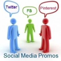 14 day Social Media Promotion Package, Tweet, F... - $18.00