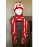Delta Sigma Theta Inspired Handmade Crochet Bea... - $60.00