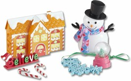 My Life As Holiday 7 Doll Decorations Set Gingerbread House,Snow Globe,Snowman  - $9.91