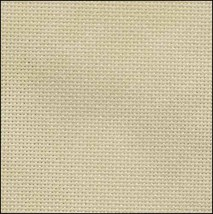 Brown 28ct evenweave 17x19 HD cross stitch fabric Fabric Flair - $16.00
