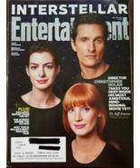 Interstellar - Hathaway, McConaughey, Chastain in Entertainment Weekly  ... - $4.95