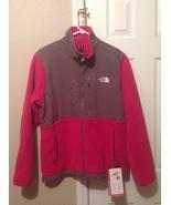 The North Face Womens Denali Jacket Large Parasol Pink Sonnet Grey Polartec 300 - $135.99
