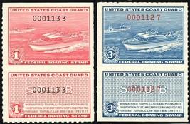 RVB1-2, Mint NH Federal Boating Stamps VF  Cat $82.50 - Stuart Katz - $49.95