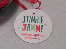 """""""Goofy Brother"""" Christmas Tree Ornament Ball Sphere Lights Up Red Green & Blue image 4"""