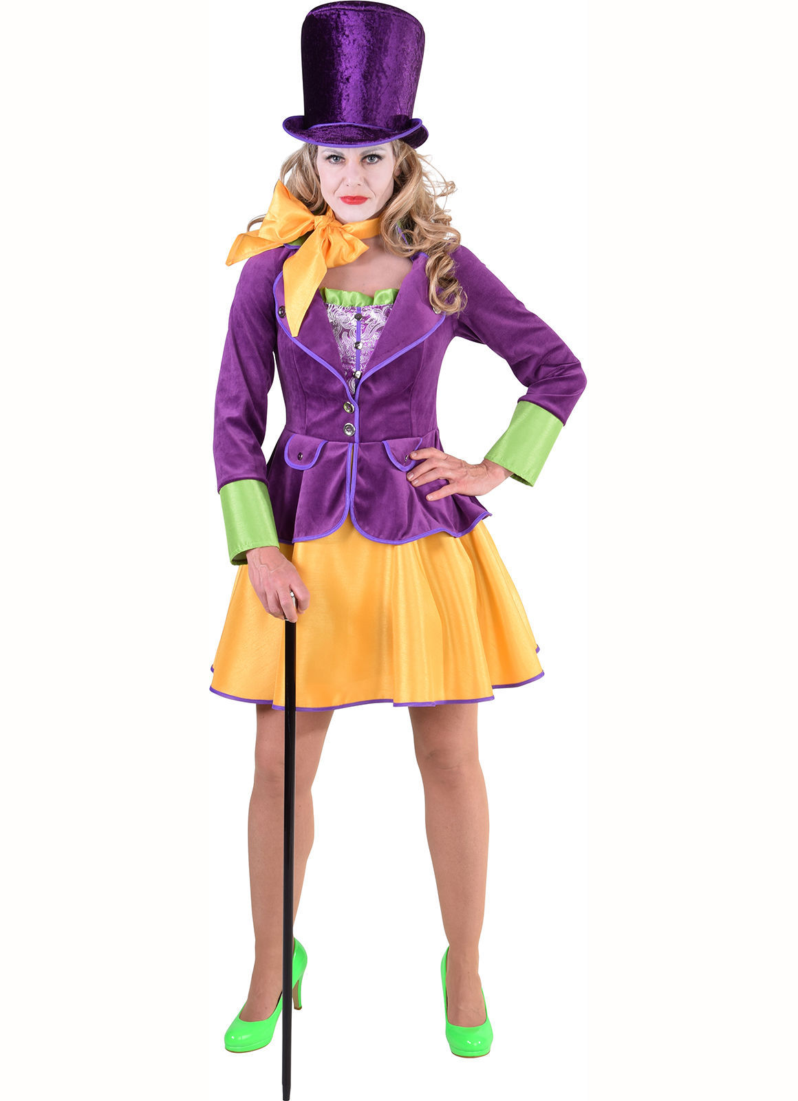 Female Willy Wonka / Entertainers  Costume  , sizes 6 -22