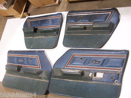 1975 LTD 4 DOOR SET OF 4 DOOR PANEL ARMREST OEM USED FORD FRONT REAR LEF... - $742.50