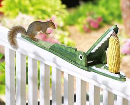 Crocodile Shaped Squirrel Feeder - $18.95