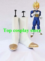 Dragon Ball Cosplay Shoes Vegeta Pointed Toe Boots shoes #DB006 - $64.00
