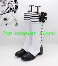 Kuroshitsuji Black Butler Charles Grey Charles Gray Cosplay Shoes Boots shoe 22 - $65.00