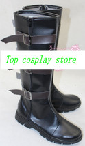 Marvel's The Avengers Captain America movie ver cos Cosplay Shoes Boots shoe bV2 - $65.00