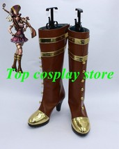 League of Legends LOL Caitlyn the Sheriff of Piltover Cosplay Shoes boots shoe - $65.00