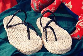 One Piece Monkey D Luffy Cosplay Shoes straw sandals zori Waraji Sandals & Flip - $16.00