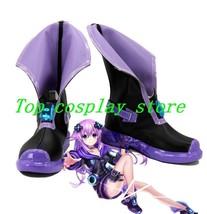 Hyperdimension Neptunia Choujigen Game Neptune Game Nepgear Cosplay Shoes Boots - $62.00