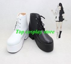 Danganronpa Trigger Happy Havoc monokuma Cosplay shoes boots shoe boot - $59.00
