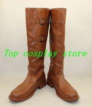 Star Wars Jedi Knight Obi-Wan Kenobi Cosplay Shoes boots shoe boot brown ver 2 - $65.00