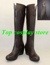 The Hobbit: The Desolation of Smaug Thranduil cosplay shoes boots shoe boot - $65.00