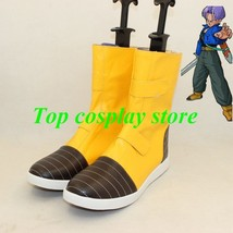 Dragon Ball Trunks cosplay shoes boots shoe boot hand made - $63.00