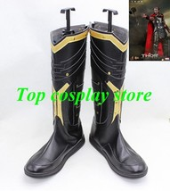 Marvel's The Avengers Captain America Thor 2 Thor Odinson cosplay shoes boots v2 - $65.00
