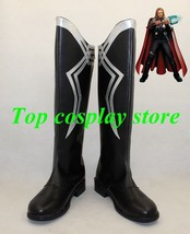 Marvel's The Avengers Captain America Thor 2 Thor Odinson cosplay shoes boots 1 - $65.00