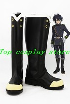 Owari no Seraph of the end Yuichiro Hyakuya  hiiragi shinoa cosplay shoes boots - $64.00