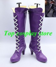 League of Legends LOL The Loose Cannon Jinx Cosplay Shoes boots shoe boot - $64.00