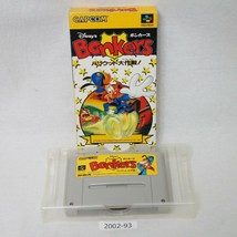Nintendo SNES Disney's Bonkers Boxed w/box Working SFC Games 2002-93 - $77.59