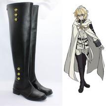 Anime Seraph of the end Mikaela Hyakuya Ferid Bathory Cosplay shoes boots shoe - $64.00