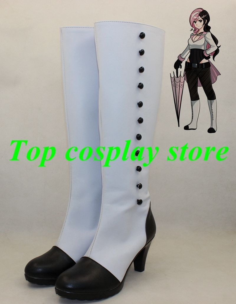 New RWBY Neo cosplay shoes boots Custom Any Size