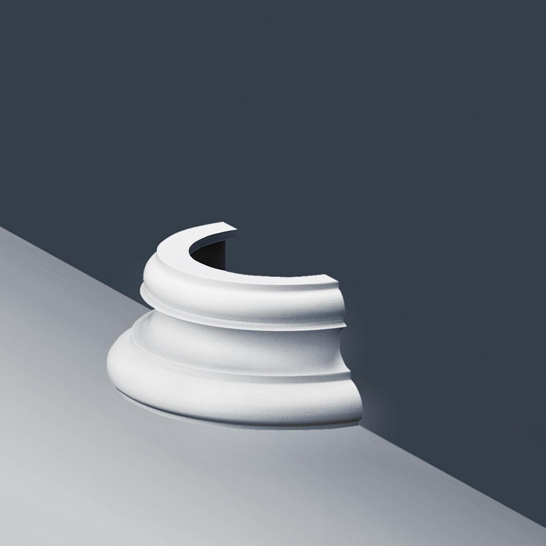half column plinth socket stucco orac decor and similar items. Black Bedroom Furniture Sets. Home Design Ideas
