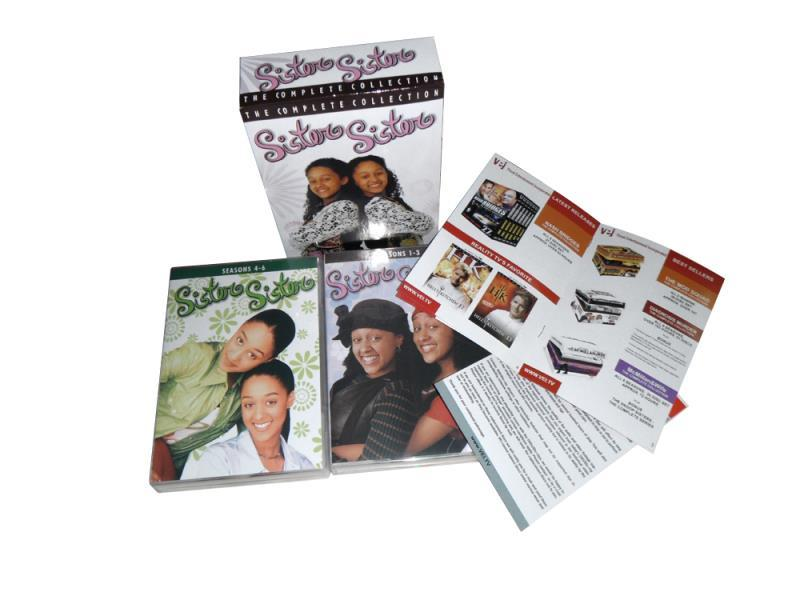 Sister Sister Complete Series Seasons 1-6 1 2 3 4 5 6 DVD Box Set 18 Dsic New