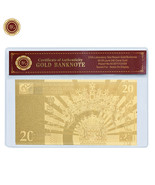 WR Gold Poland Banknote 20 zl 2017 300th Anniversary of the Coronation S... - $5.87 CAD