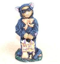 "Boyds Bearstone  ""Raven Spookenbeary Treats Puhleeze!"" #4034151- 1E- 2013 - $22.99"
