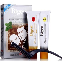 Bigen Speedy Hair Color Conditioner With Natural Herbs Dark Brown #883 1 Box - $15.99
