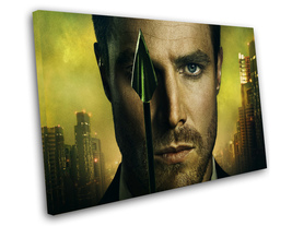 "Arrow Oliver Queen Stephen Amell TV Series 12""x16"" (30cm/40cm) Canvas Print - $25.00"
