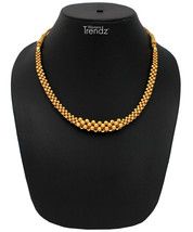 Womens Trendz Utarband Tushi 24K Gold Plated Alloy Necklace  - $33.00