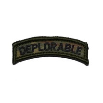 "Deplorable Tab, Deplorable Tab 0.75"" x 2.75"" Military Patch / Morale Patch - ... - $6.85"