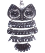 Owl Pendant large fully articulated With Chain ... - $63.84