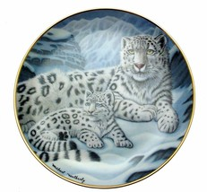 National Wildlife Federation plate - Snow Leopards by Michael Matherly -... - $34.18