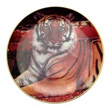 Franklin Mint The Imperial Tiger Plate Ron Kimball CP500 - $32.99