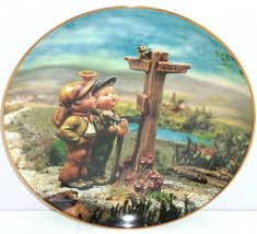 Hummel Collector Plate March A Windy Crossroad Calendar Collection M I D... - $59.95
