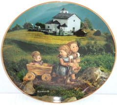 Hummel Collector Plate July Summer Stroll Calendar Collection M I Danbur... - $59.95