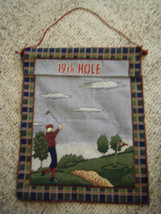"""19th Hole"" Tapestry Wall Hanging - $12.86"
