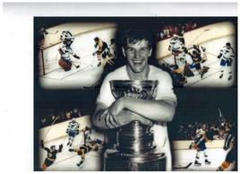 Bobby Orr Boston Bruins 05/10/70 Cup Winning Goal vs St Louis 11X14 Colo... - $15.95