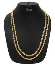 Womens Trendz Pohe Haar 24K Gold Plated Alloy Necklace - $33.00