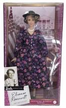 Barbie Signature Eleanor Roosevelt Inspiring Women Series First Lady & A... - $78.97