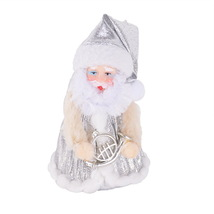 Cute Christmas Santa Claus Doll Toy Tree Ornaments Decoration Gifts Rand... - $7.99