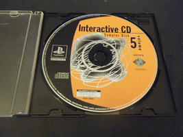 Interactive CD Sampler Disk Volume 5 (Playstation 1) - $12.46