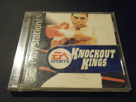 Knockout Kings (Sony PlayStation 1, 1998) - Complete!!!!! - $4.90